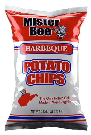 Mister Bee 16 ounce barbeque chips