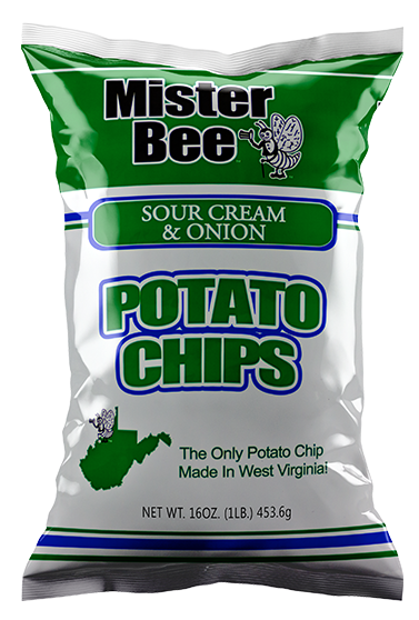 Mister Bee 16 ounce sour cream and onion chips