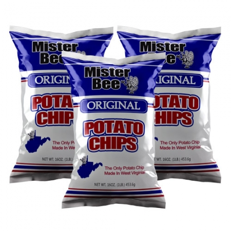 Sixteen ounce original potato chips