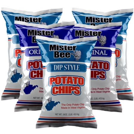 16 ounce 3 quantity dip style chips, 16 ounce 2 quantity original potato chips