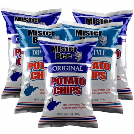 16 ounce 3 quantity original chips, 16 ounce 2 quantity dip style chips