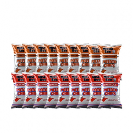 20 ounce 9 quantity barbeque chips, 20 ounce 9 quantity honey barbeque