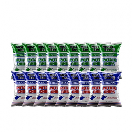 9 source cream and onion chips, 9 original potato chips