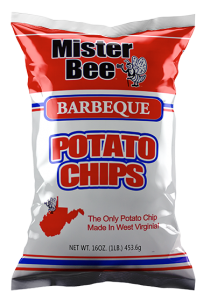 Mister Bee barbeque potato chips