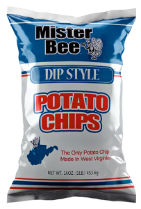 Mister Bee dip style potato chips