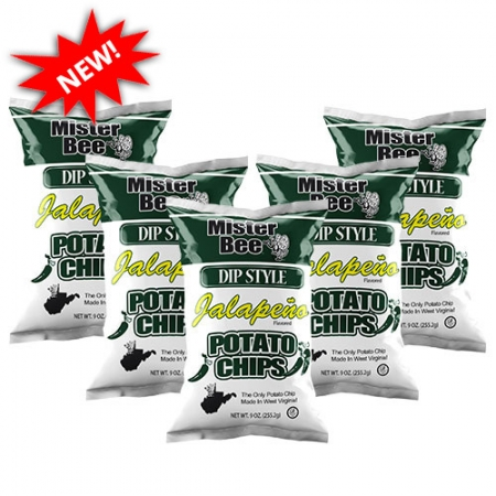 16 ounce 5 quantity dip style jalapeno chips