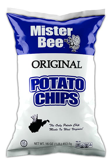 Mister Bee original potato chips bag